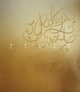 O'Riley's Liszt - Blu-ray Video/Audio Disc