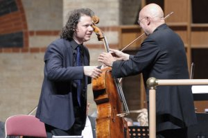 with Dennis Russel Davies, Basel Symphony Orchestra